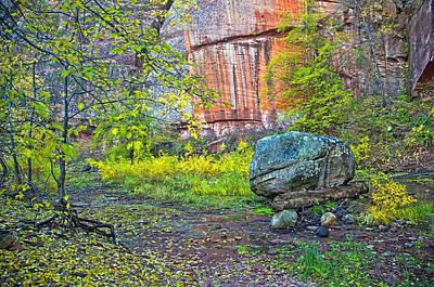 West Fork Digital Art - Big Rock by Brian Lambert