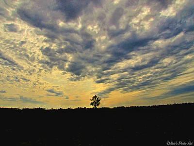 Big Sky Print by Debbie Portwood