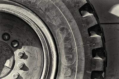 Big Wheel Print by Patrick M Lynch