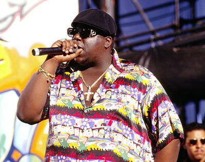 Biggie Photograph - Biggie  Notorious B.i.g.1995 by Chris Walter