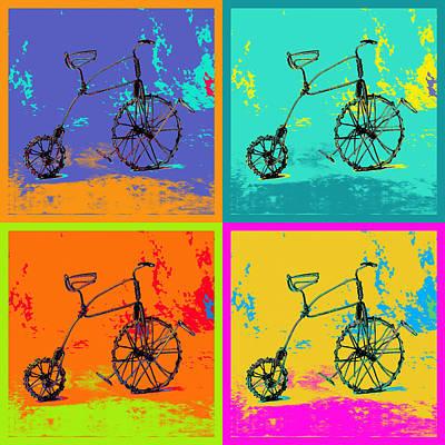 Bike 1b Print by Mauro Celotti