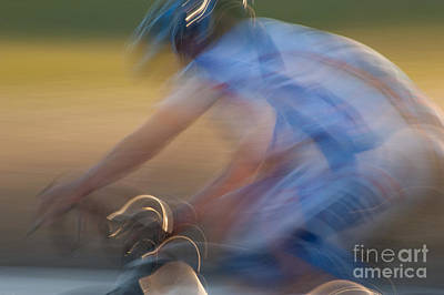 Bike Races Photograph - Bike Race 2 by Catherine Lau