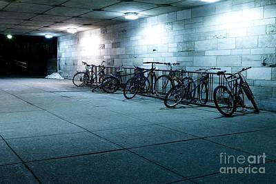 Bikes Print by Igor Kislev