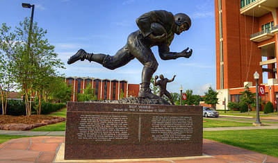 Oklahoma University Photograph - Billy Vessels by Ricky Barnard