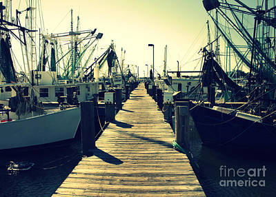 Mississippi Photograph - Biloxi Shrimp Boats by Carol Groenen