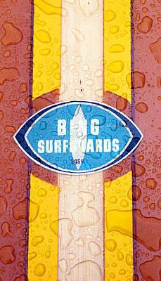 Bing Surfboards Print by Ron Regalado