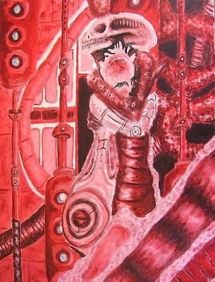 Biomechanic Painting - Biomechanic I by Nicholas Vermes