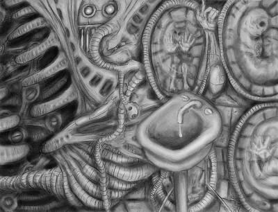 Biomechanic Digital Art - Biomechanic IIi by Nicholas Vermes