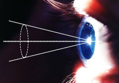 Civil Liberties Photograph - Biometric Eye Scan by Pasieka