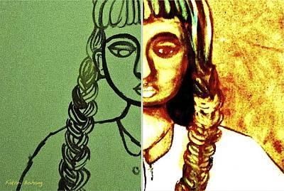 Bipolar Digital Art - Bipolar 1 by Fakhri Bohang