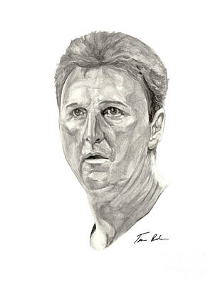 Larry Bird Painting - Bird by Tamir Barkan