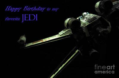 Birthday Card Print by Micah May