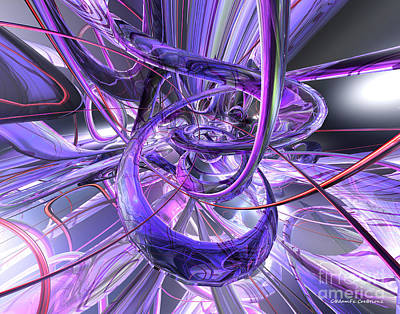 Abstract Digital Art - Birthplace Of Abstract  by G Adam Orosco