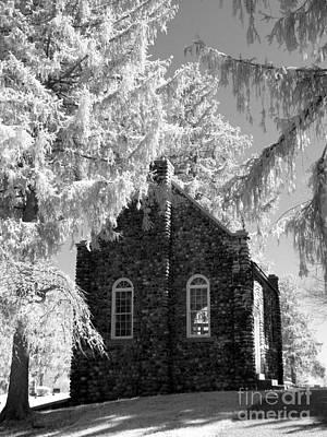 Ir Photograph - Black And White Cobblestone by Stephanie Kripa