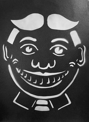 Black And White Tillie Original by Patricia Arroyo