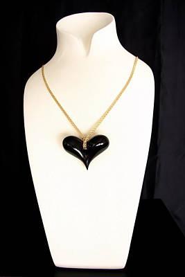 Ciondolo Jewelry - Black Heart  by Emanuele Rubini