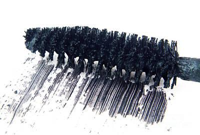 Black Mascara Print by Blink Images