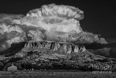 Thunderhead Photograph - Black Mesa by Keith Kapple