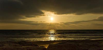 Light Photograph - Black Sunset by Nadya Ost