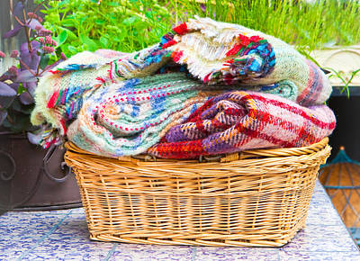 Blankets Print by Tom Gowanlock