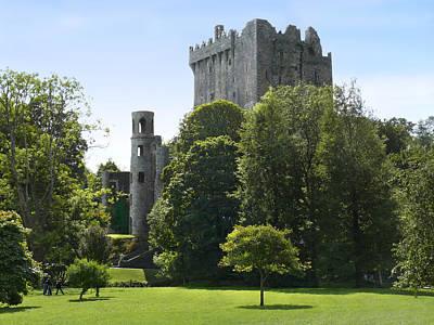 Ground Digital Art - Blarney Castle - Ireland by Mike McGlothlen