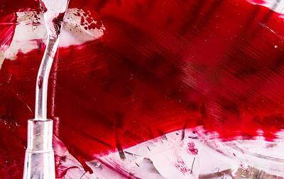 Abigail Photograph - Bleeding Red by Abigail Markov