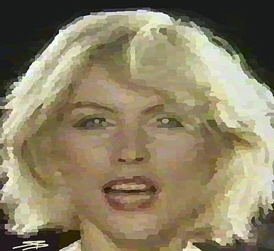 Blondie Digital Art - Blondie by Siobhan Bevans