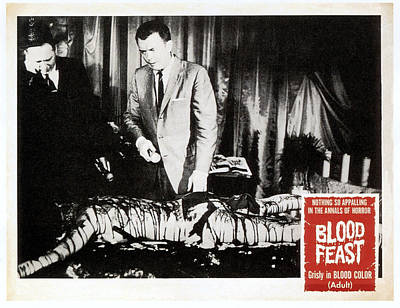 Blood Feast, From Left Scott H Hall Print by Everett