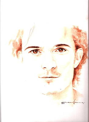 Orlando Bloom Painting - Bloom by Karl Opanowicz