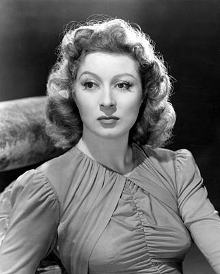 Blossoms In The Dust, Greer Garson, 1941 Print by Everett