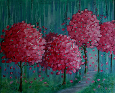 Blossoms Print by Melodie Douglas