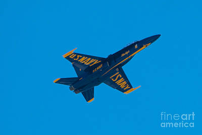 Baltimore Photograph - Blue Angels 17 by Mark Dodd