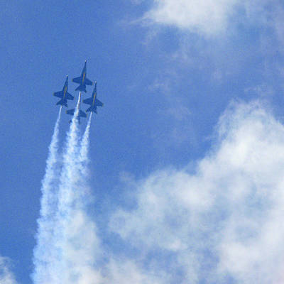Photograph - Blue Angles by Mike McGlothlen