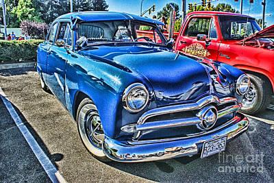 Blue Classic Hdr Print by Randy Harris