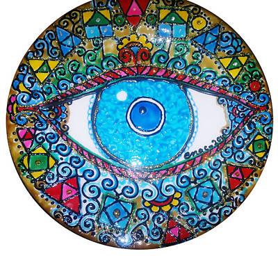 Blue Eye Original by Enas Darwish