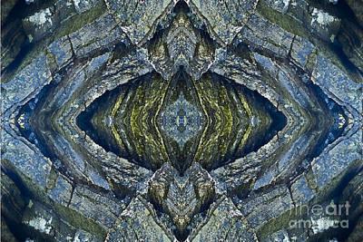 Blue Eye Print by Heiko Koehrer-Wagner