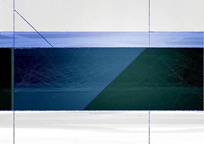 Blue Haze Print by Naxart Studio