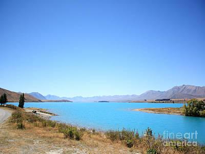 Wild Photograph - Blue Lake  by Pixel Chimp