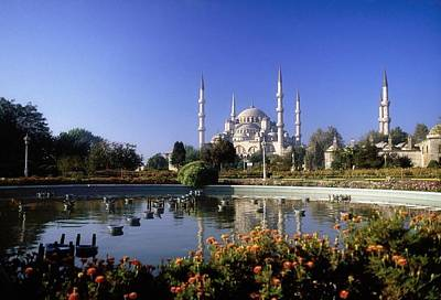 Sultanahmet Camii Photograph - Blue Mosque, Sultanahmet, Istanbul by The Irish Image Collection