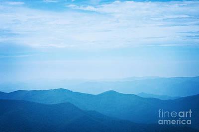 Blue Ridge Mountains Print by Kim Fearheiley