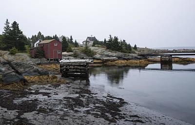 Blue Rocks Nova Scotia 8 Print by John Burnett