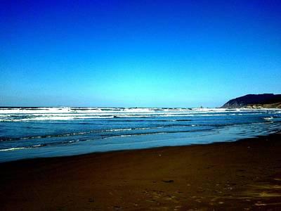 Photograph - Blue Sky Beach by J Von Ryan