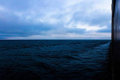 Merchant Mariners Photograph - Blue by Tim  Telep