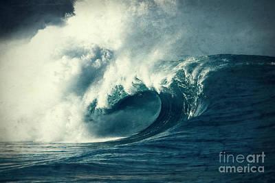 Beach Photograph - Blue Waimea by Paul Topp