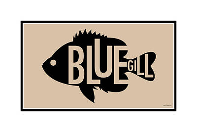 Bluegill Print by Geoff Strehlow