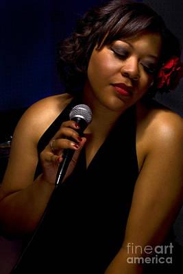 Women Photograph - Blues Singer by Gib Martinez
