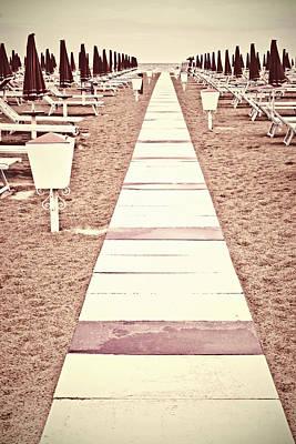 Boardwalk Print by Joana Kruse
