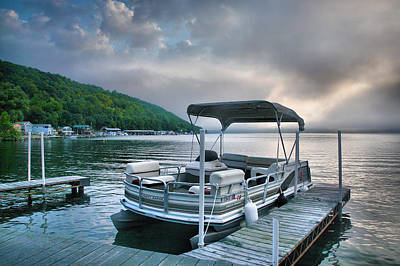 Boat At Rest Print by Steven Ainsworth
