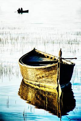 Boat Print by Okan YILMAZ
