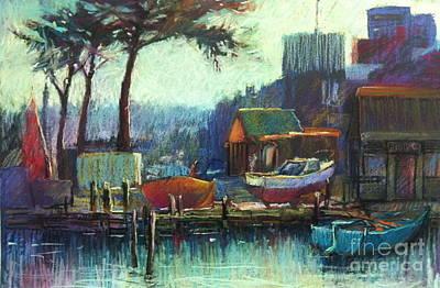 Boatman's Retreat Print by Pamela Pretty